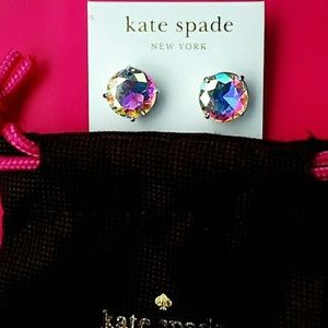 NWT! •KATE ♠️ SPADE• Gumdrop Bling Authentic Studs